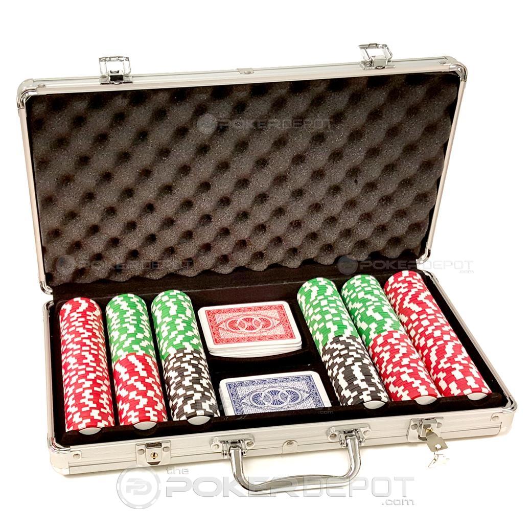 Aluminium Poker Chips Sets 300ct