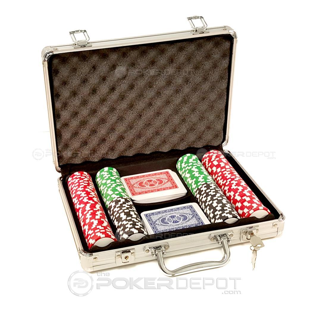 Aluminium Poker Chip Set 200ct