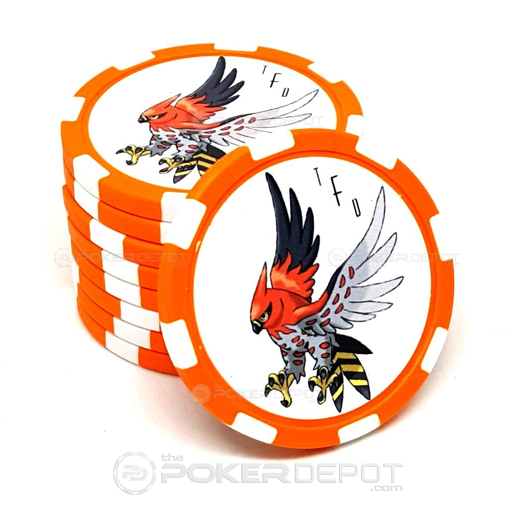 Clay Poker Chip