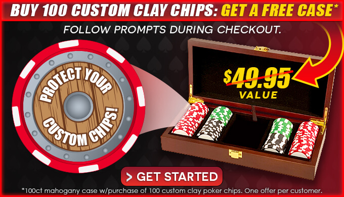 Free Poker Chip Case