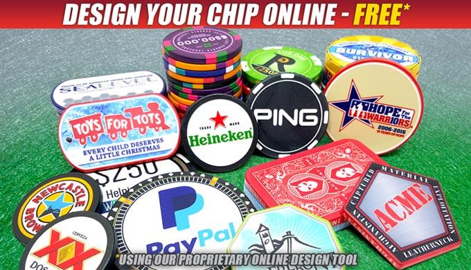 Promotional Casino Poker Chips