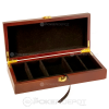 Mahogany Poker Chip Case (Empty)