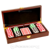 Mahogany Poker Chip Case (Chips not included)