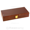 Mahogany Poker Chip Case (Closed)