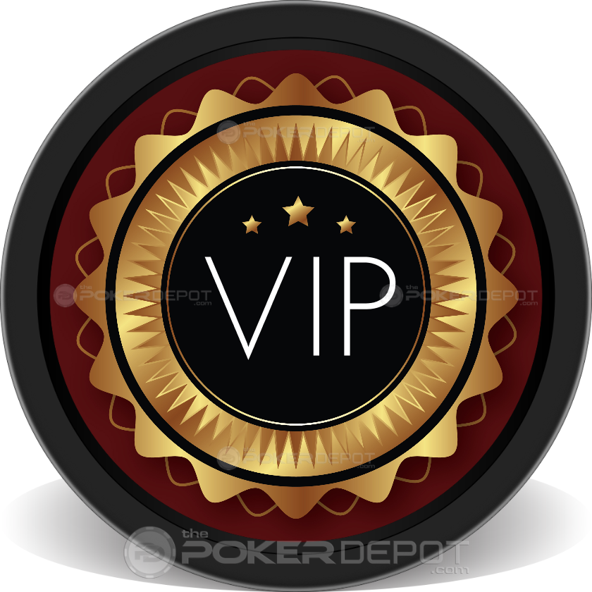 VIP Poker Chip - Back
