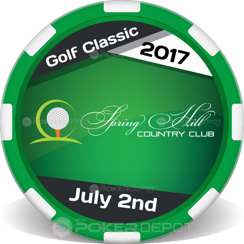 Country Club Golf Ball Marker - Main
