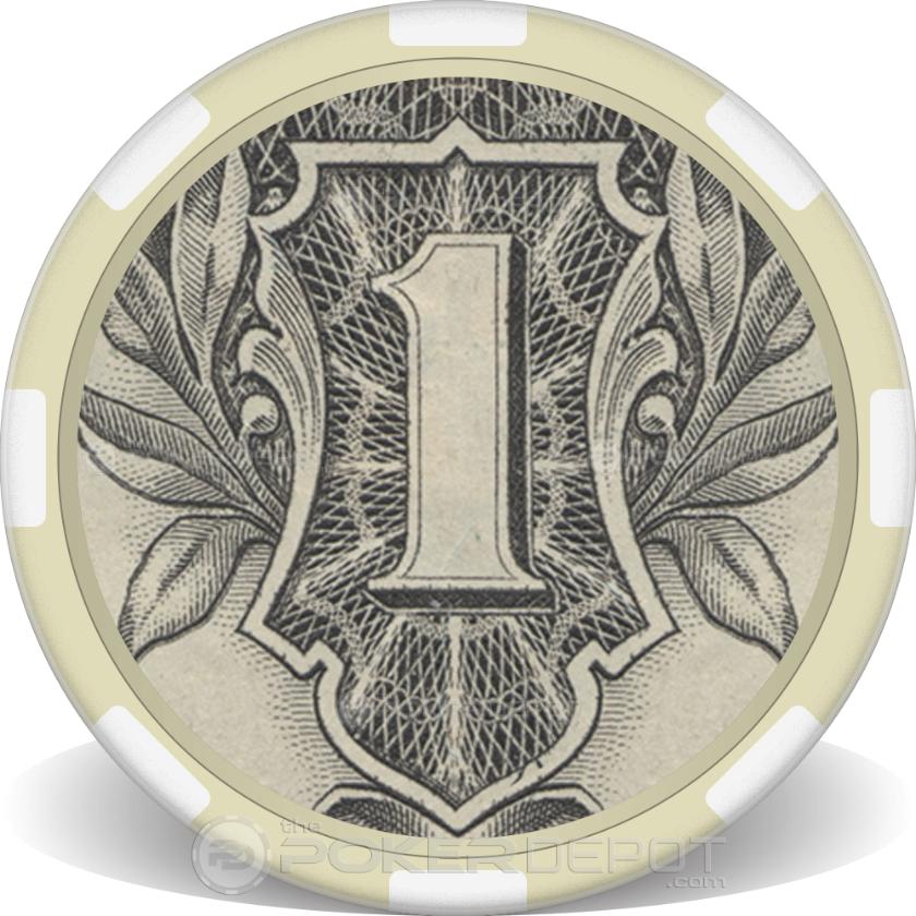 $1 Bill - Back