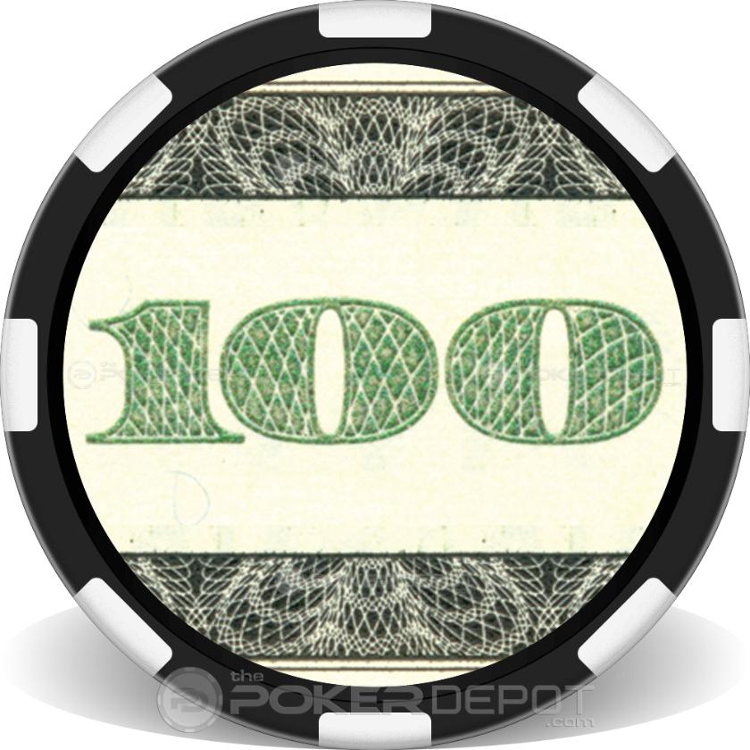 $100 Bill - Back