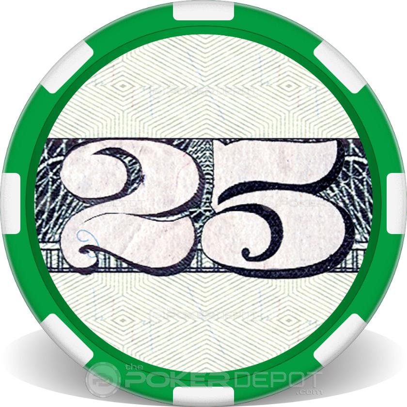 $25 Bill - Back