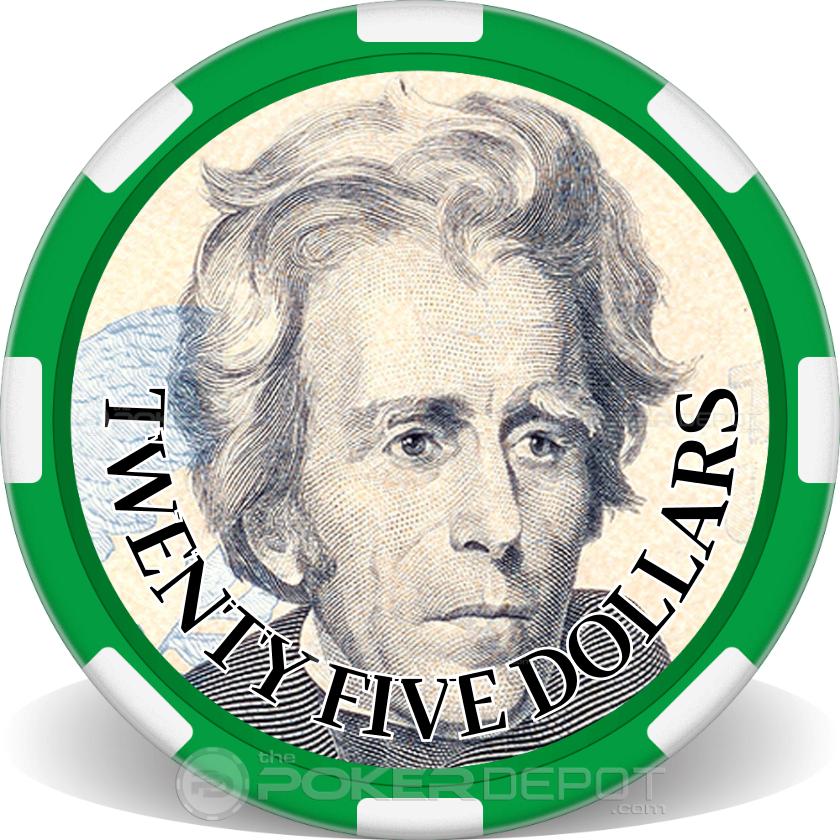 $25 Bill - Main