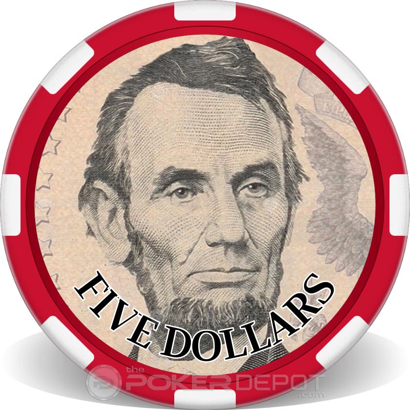 $5 Bill - Main