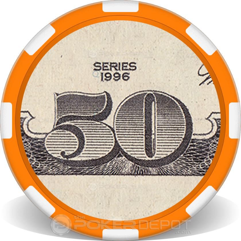 $50 Bill - Back