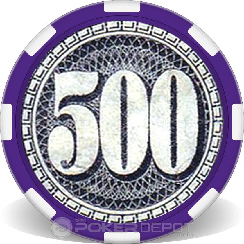 $500 Bill - Back