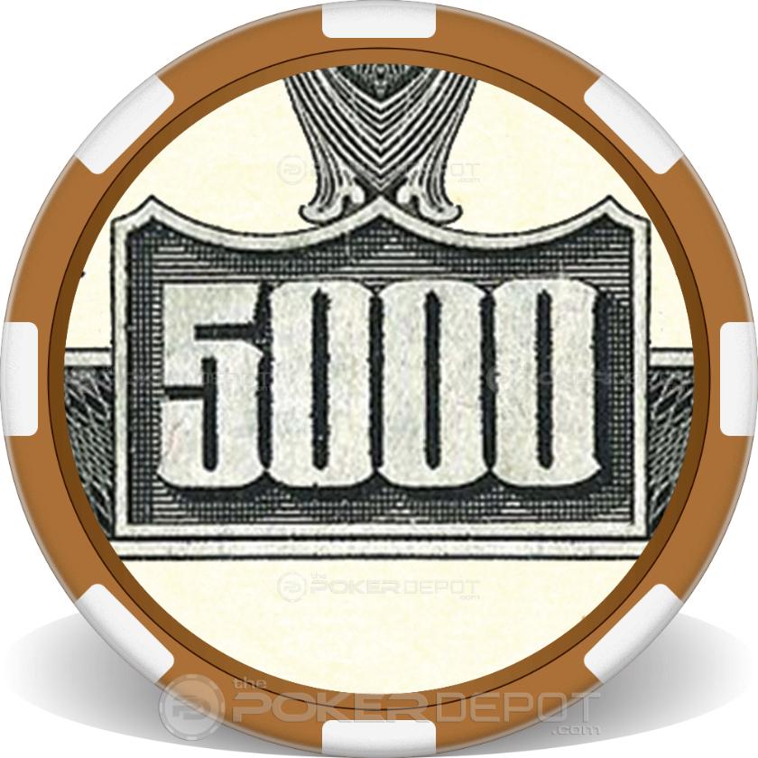 $5000 Bill - Back