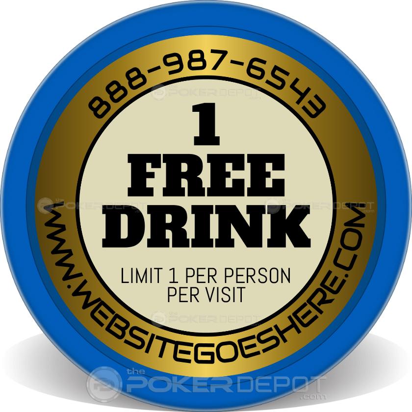 1 Free Drink - Back