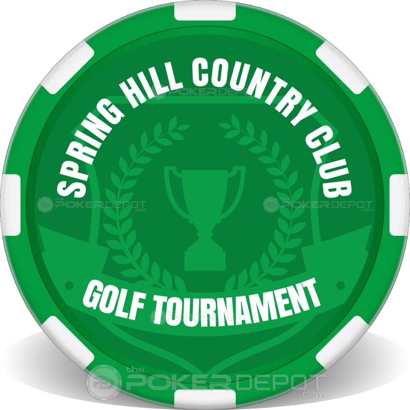 Golf Tournament Event - Back