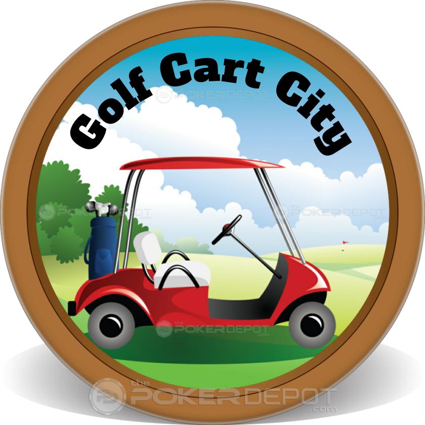 Golf Business Card - Back