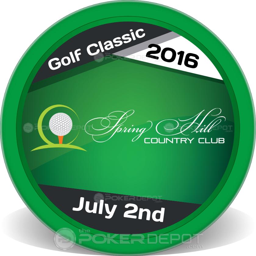 Golf Tournament - Back