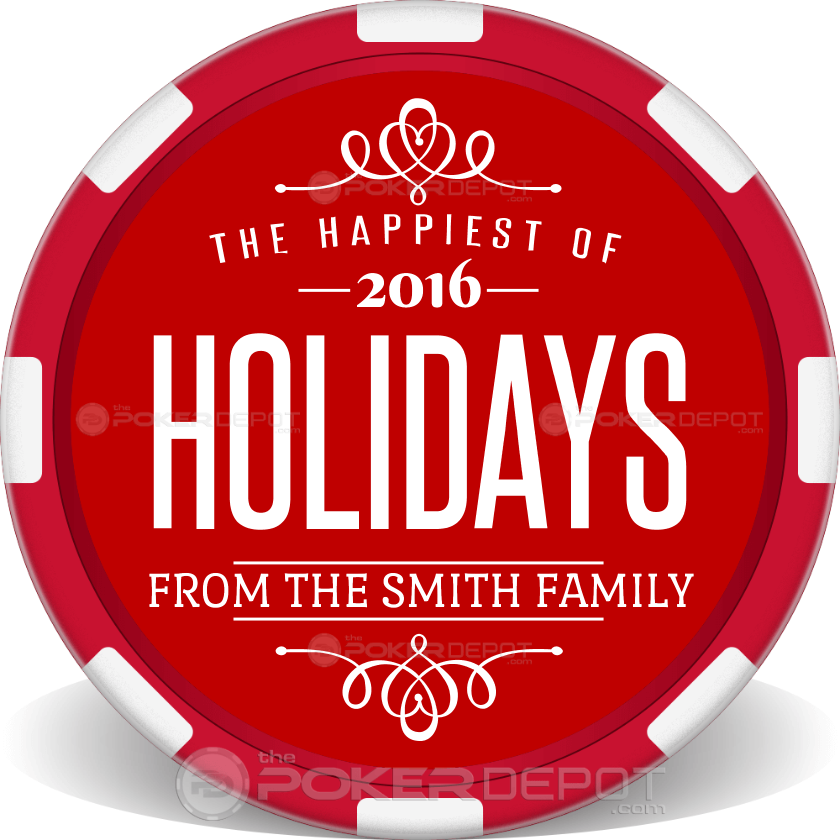 Happiest of Holidays - Back