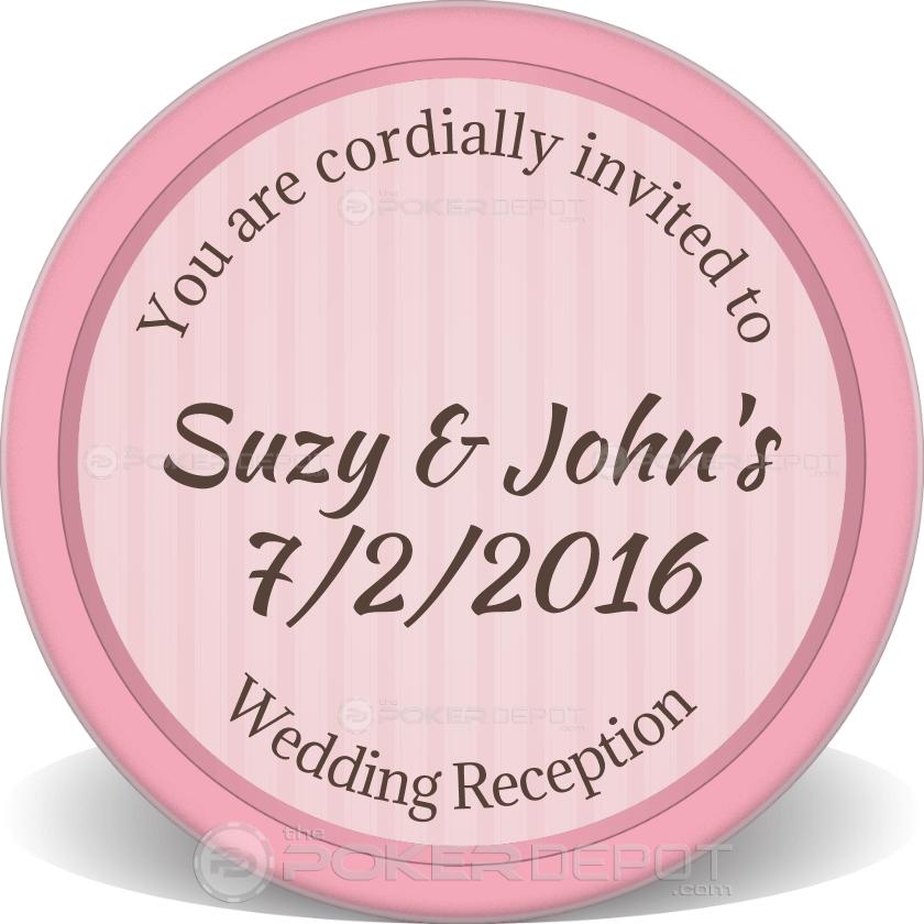 Wedding Reception - Back