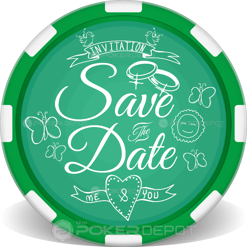 Save The Date Cupid - Back