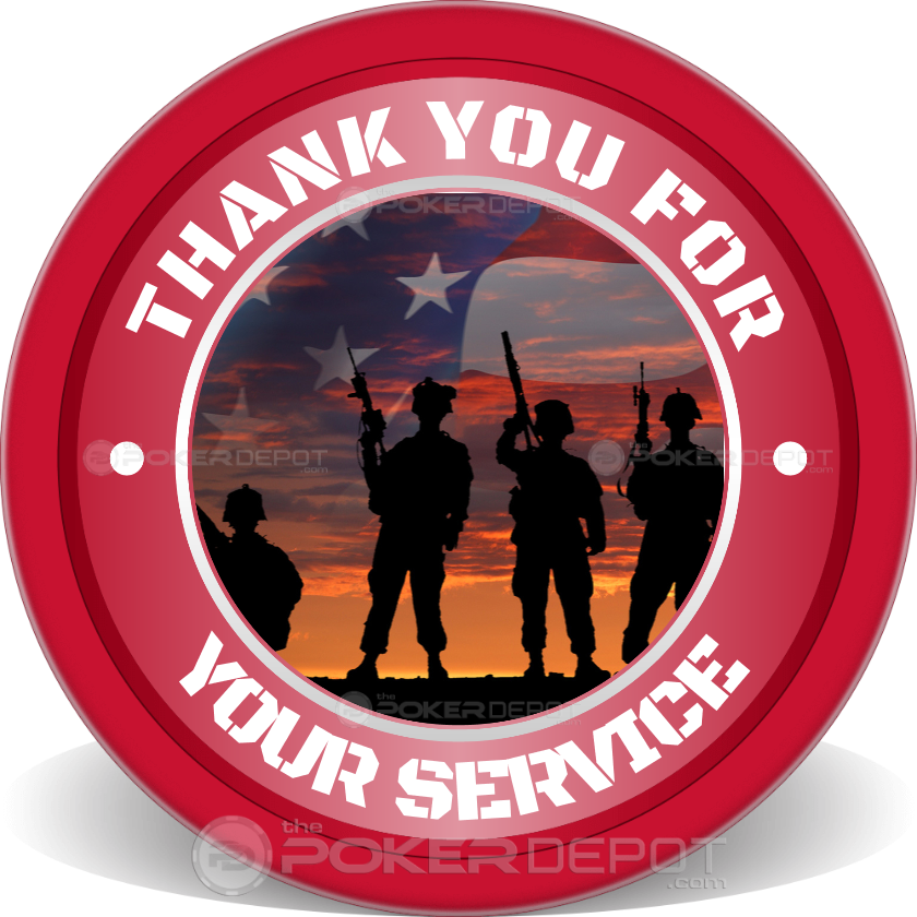 Veterans Day Seal - Back
