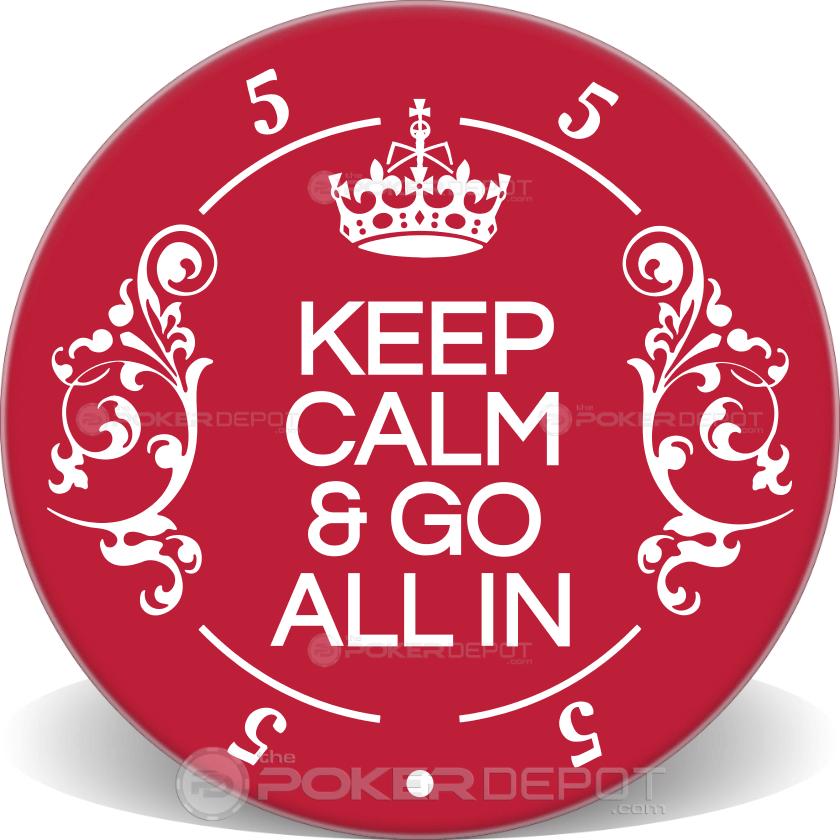 Keep Calm - Back