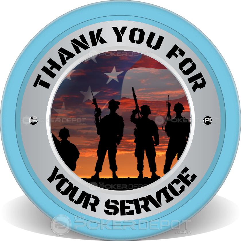 Veterans Day Flags - Back