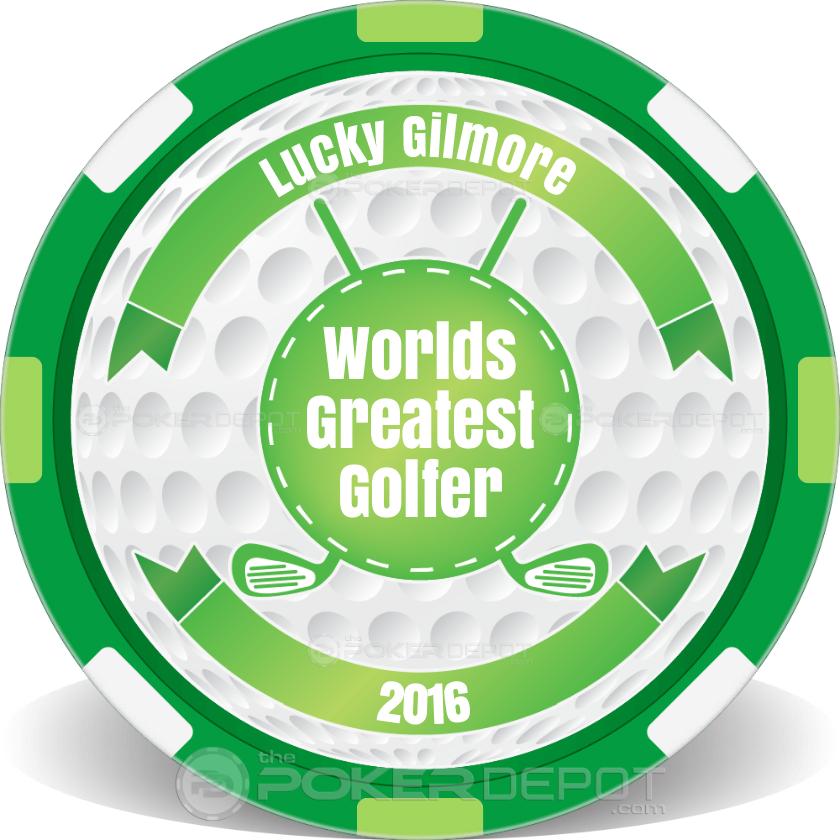 Worlds Greatest Golfer - Back