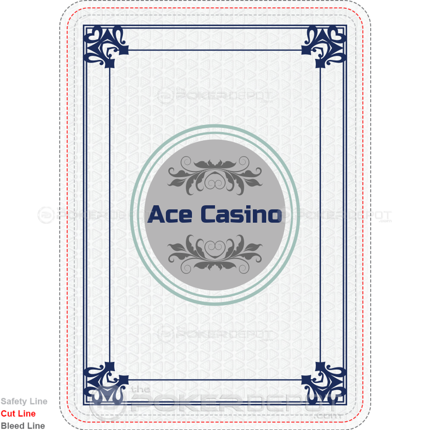 Ace Casino Custom Playing Cards