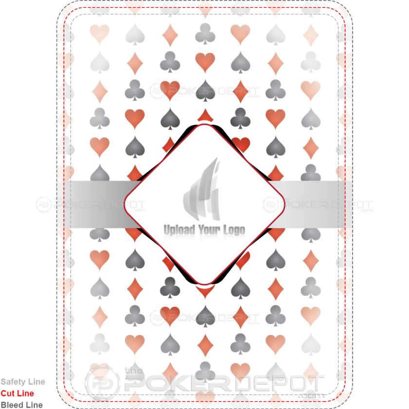 Suits Custom Playing Cards