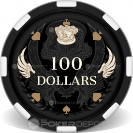 Royal Wings Poker Chips Front