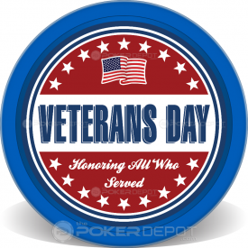 Veterans Day Honoring Chips Front