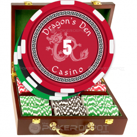 Dragon Casino Poker Chip Set Front