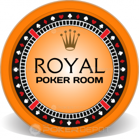 Royal Poker Suits Chips Front