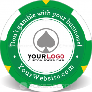 Customize Your Own Poker Chip Front