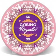 Casino Royale Ceramic Chip Front