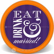 Eat Drink & Be Married Chips Front