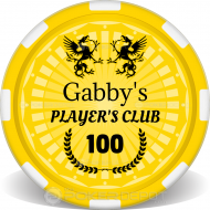 Player's Club Poker Chips Front