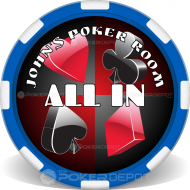 Poker Suits Poker Chip Front