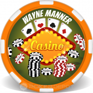 Casino Chip Stacks Custom Poker Chips