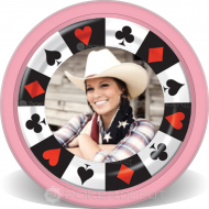 Birthday Party Custom Poker Chips