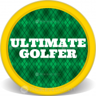 Golfer Plaid Custom Clay Poker Chips