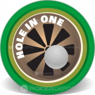 Hole In One Custom Poker Chips