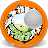 Hooked on Golf Custom Poker Chips
