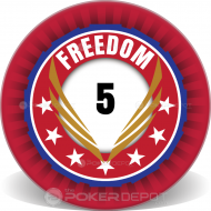 Freedom Custom Ceramic Poker Chips