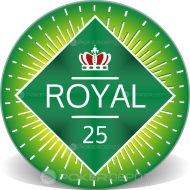 Royal Crown Custom Ceramic Poker Chips