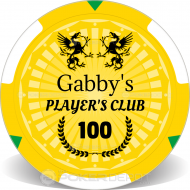 Player's Club Custom Clay Poker Chips