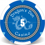 Dragon's Den Custom Clay Poker Chips