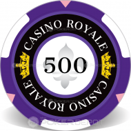 Casino Royale Custom Clay Poker Chips
